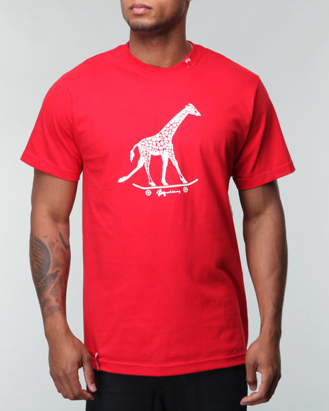 Lrg Men Red Core Collection Three S/S Tee