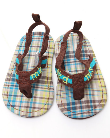 - Plaid Thong Sandal (INF)