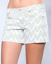 Shorts - Ikat Cutoff Short