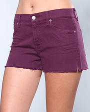 Shorts - Cut Off Short w/Split Seam