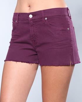 7 for All Mankind - Cut Off Short w/Split Seam