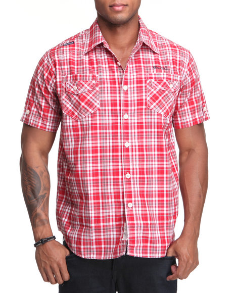 - Sailor Short Sleeve Woven Shirt
