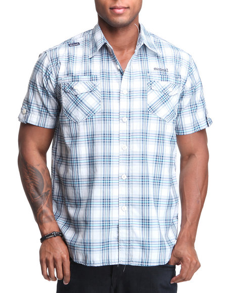 - Pirate Short Sleeve Woven Shirt