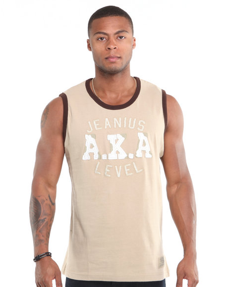 - AKA Tank with Applique