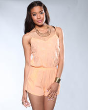 DJP OUTLET - Peach Romper