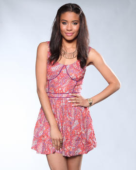 DJP OUTLET - Floral Print Dress