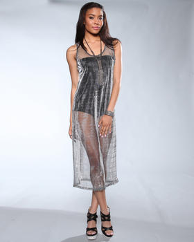DJP OUTLET - Lani Silver Tank Dress