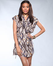 DJP Boutique - Mixed Print Dress