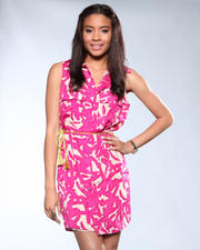 DJP Boutique - Printed Dress w/ Belt