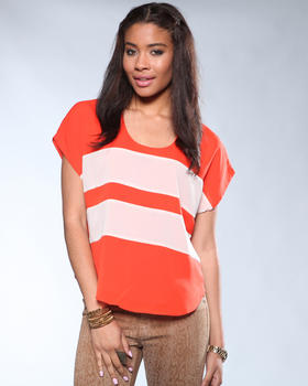 DJP Boutique - Vibrant Stiped Blouse