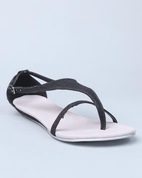 Fashion Lab - Terry flat sandal