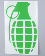 "The Skate Shop - Grenade 8.5"" Die Cut Sticker"