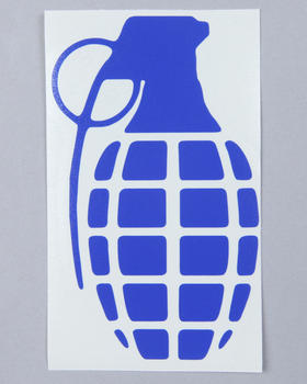 "Grenade - Grenade 4"" Die Cut Sticker"