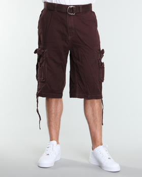 MO7 - MO7 heavy washed cargo shorts