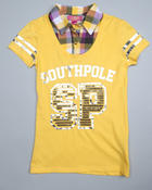 Southpole - 2-Fer shirt w/foil and sequins