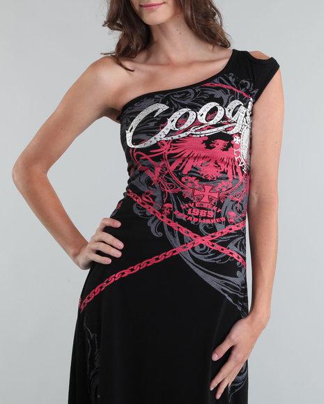Coogi Women One Shoulder Maxi Dress - Dresses
