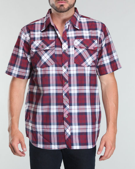 Mecca Men Red The Sower Short Sleeve Woven