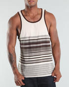 Basic Essentials - Engineer striped tank top