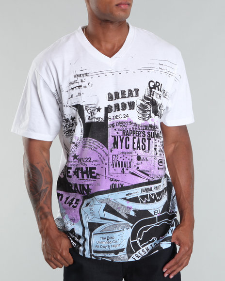 Ecko Men Fresh Press Tee - Shirts