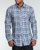Button-downs - Smoke L/S Button-Down