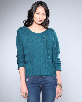 DJP OUTLET - David Cable Knit Sweater