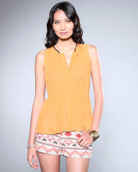 DJP OUTLET - Lucille Pleat Top