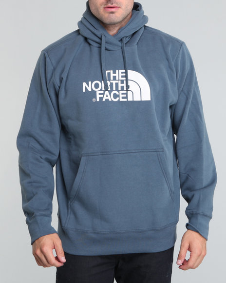 The North Face Men Blue Half Dome Hoodie