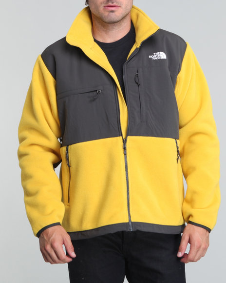 The North Face - Men Yellow Denali Jacket