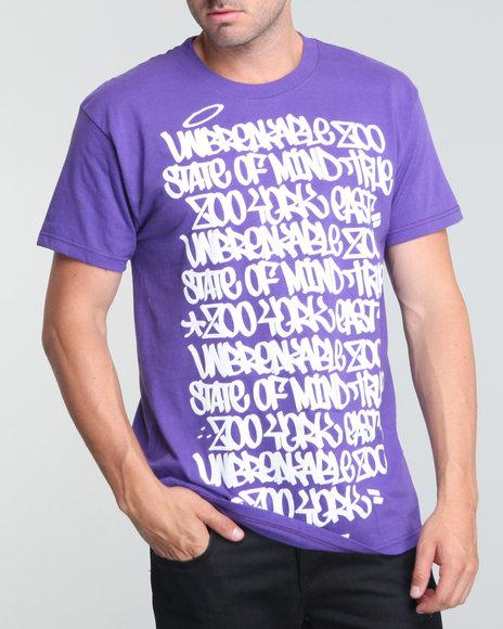 Zoo York Men Solid Block Tee - Shirts