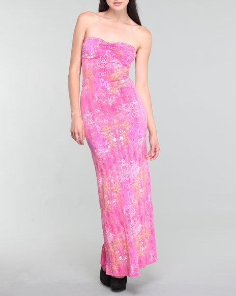 Coogi Women All Over Print Maxi Dress - Dresses