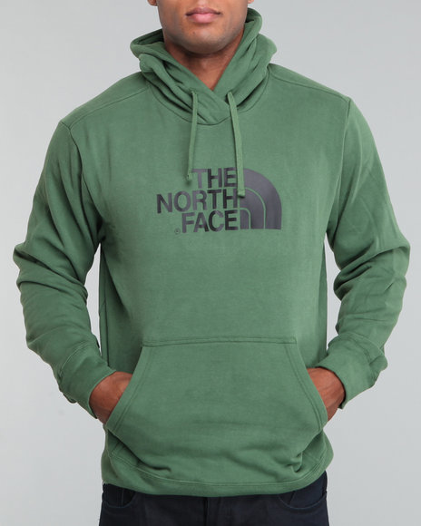 The North Face Men Green Half Dome Hoodie