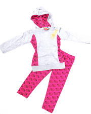 Girls - 2-Piece Tunic with Legging Set