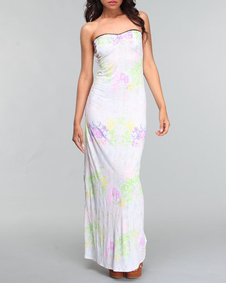 Coogi Women Coogi All Over Print Maxi Dress - Dresses