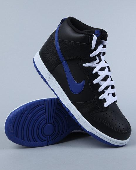 Nike Men Black Nike Dunk High Sneakers