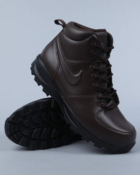 Nike Men Brown Nike Manoa Boots