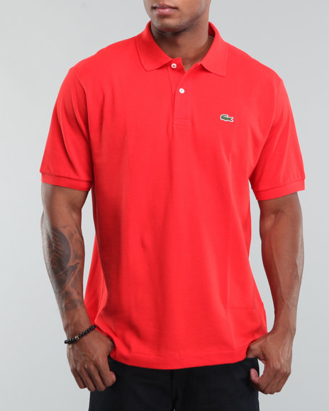 Lacoste Men Red S/S Classic Pique Polo