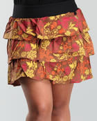 Bottoms - Ruffled skirt (plus)