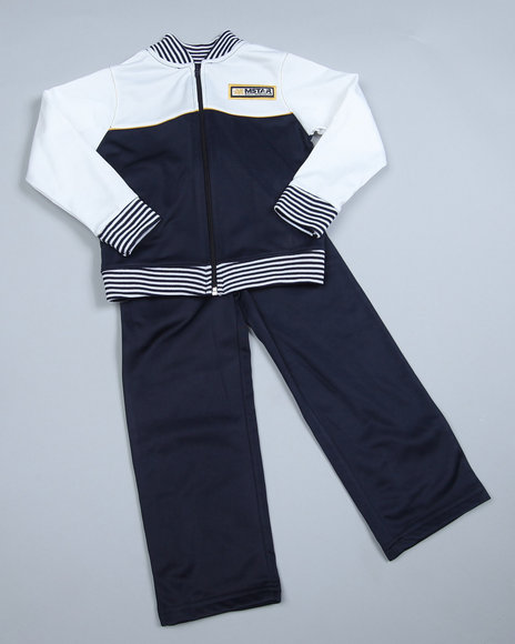 Mecca Boys Navy 2 Piece Tricot Set (8-20)