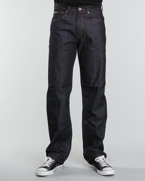 Rocawear Men Dark Wash R+ Core Regular - Fit Denim Jeans