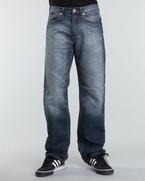 Rocawear Men Medium Wash R+ Core Regular - Fit Denim Jeans