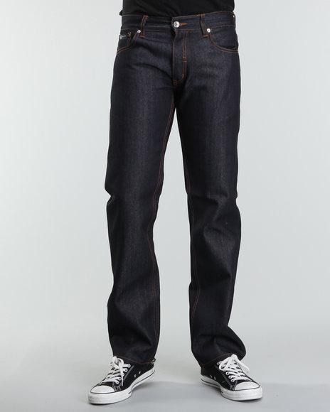 Rocawear Men Dark Wash R+ Core Straight - Leg Denim Jeans