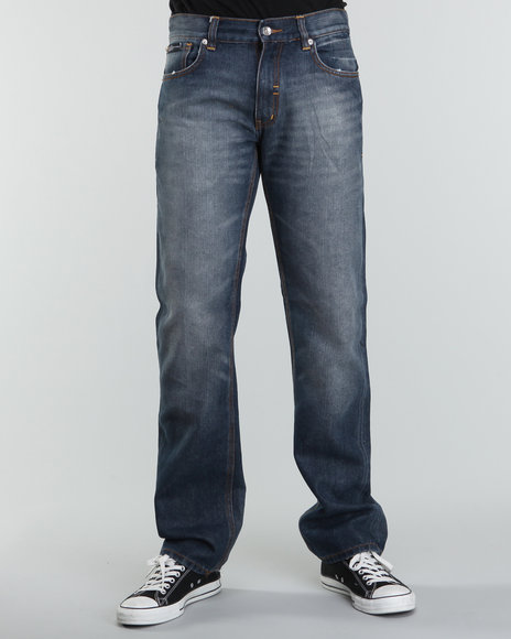 Rocawear Men Medium Wash R+ Core Straight - Leg Denim Jeans