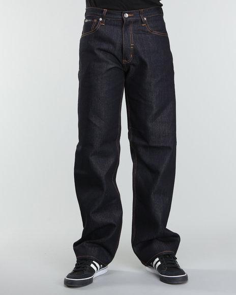 Rocawear Men Dark Wash R+ Core Loose - Fit Denim Jeans