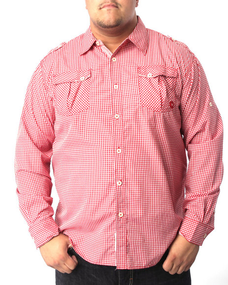 - Brandon Roll Up Plaid Shirt (B&T)
