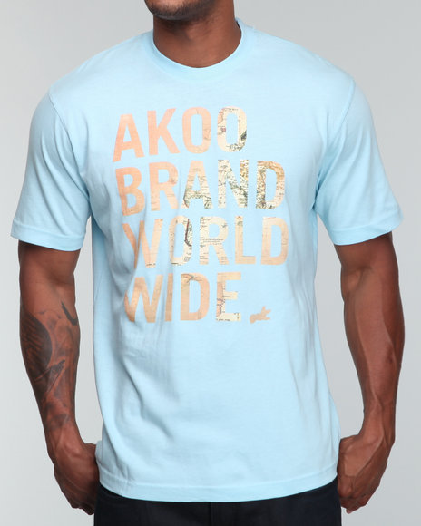 Akoo Men Worldwide Tee - Shirts