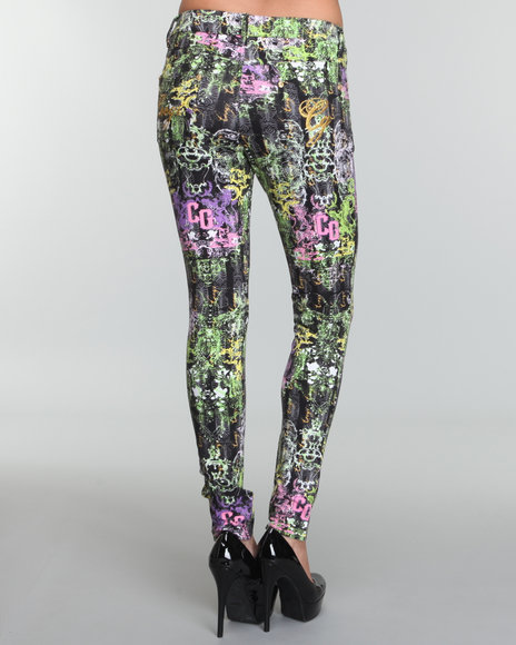 allover printed legging