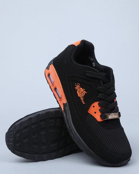 Apple Bottoms Women Orange,Black Sabella Sneaker