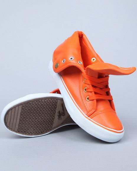 Apple Bottoms Women Orange Elektra Sneaker