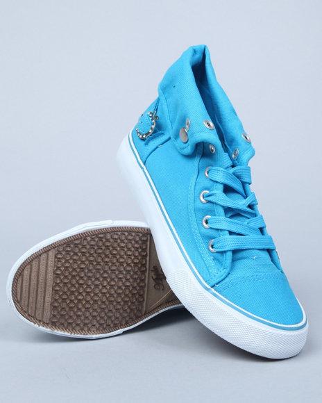 Apple Bottoms Women Blue Elton Sneaker