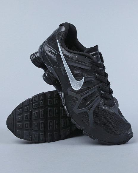 Nike Men Black Nike Shox Turbo 13 Sneakers